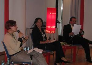 Katja Kipping, Andrea Ypsilanti, Armin Schild