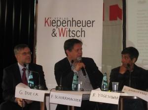 Buchmesse 2011 - Im Lesezelt