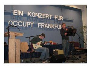 Ein Konzert für Occupy