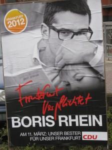 Wahlplakat - Boris Rhein