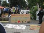 6.8.2012: Räumung des Occupy-Camps Frankfurt