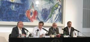 Peter Schaar, Alf Mentzer, Rüdiger Lentz, Dirk Kurbjuweit