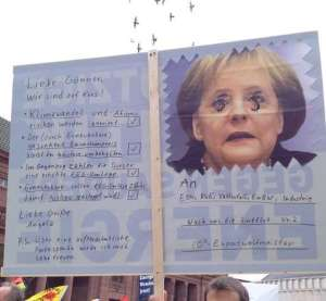 Postkarte an Angie (Foto von Claudia Köster)