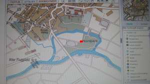 Karte Nordpark