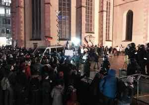 Frankfurt Katharinenkirche am 26.1.2015  (Foto: Ralf Köster)