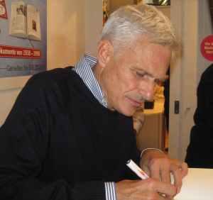 Rainald Goetz auf der Frankfurter Buchmesse 2012 (Foto: Carmen Treulieb)